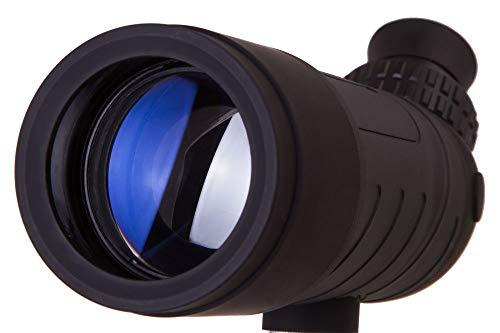 Levenhuk Blaze Base 50F Portable Spotting Scope with BK7 Glass Optics, Metal Table Tripod and Case