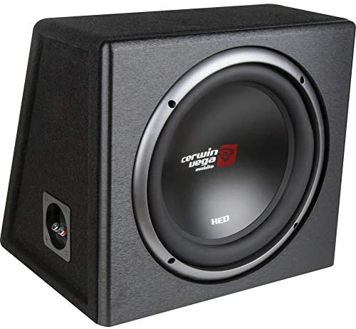 Cerwin Vega Mobile CERXE10SV XED Series XE10SV Single 10 Inch Subwoofer in Loaded Enclosure product image