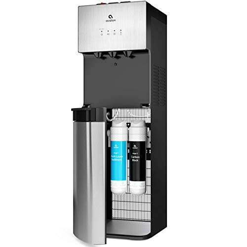 Avalon A5 Self Cleaning Bottleless Water Cooler Dispenser, UL/NSF/Energy star, Stainless Steel, full size