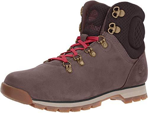 Timberland Women's Alderwood Mid Hiking Boot, Dark Brown, 7 M US