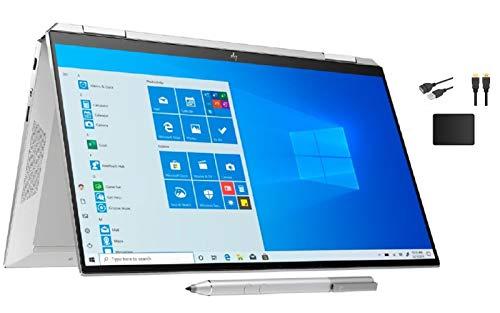 HP Spectre x360 2-in-1 13.3' 4K Ultra HD Touch-Screen Laptop Bundle Woov Mouse Pad | 10th Gen Intel Core i5-1035G4 | 8GB RAM | 512GB SSD | Fingerprint Reader | Backlit Keyboard | Windows 10