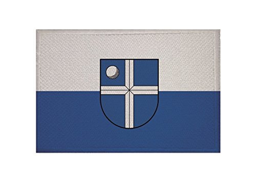 U24 Aufnäher Bruchsal Flagge Aufbügler Patch 9 x 6 cm