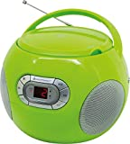 Soundmaster SCD2120GR CD-Boombox mit UKW Radio und Hörbuchfunktion