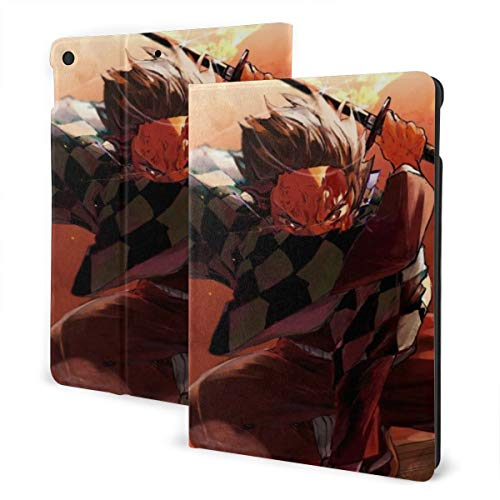 De_Mon The Sl-Ayer Slim Lightweight Smart Shell Stand Hard Back Protective Cover Case with Auto Wake/Sleep for Ipad