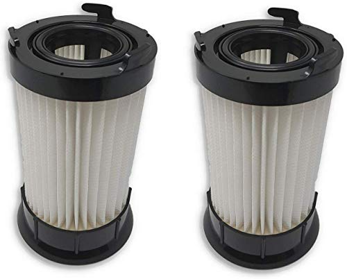 Zvac 2Pk Compatible Filters Replacement for Eureka DCF-4 DCF-18 HEPA Filter. Replaces Parts# 63073A & 63073C White