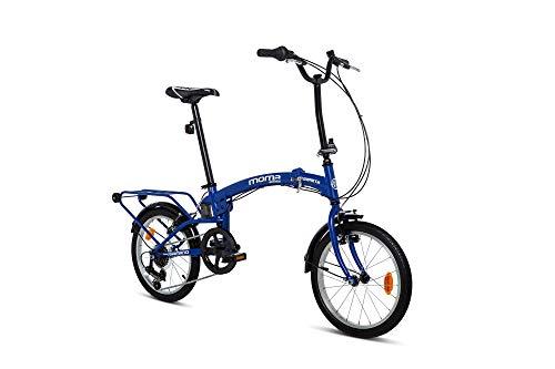 Moma bikes Compact 18 Azul, BICMP18AUN Unisex-Adult, Blu, Standard