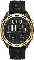 Diesel Mens Quartz Watch, Analog and Silicone- DZ1901