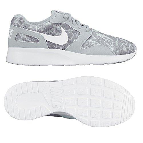 Nike Damen Sneaker Kaishi Print, Grau - Grigio (Pure Platinum/White-Wolf Grey) - Größe: 40.5 EU