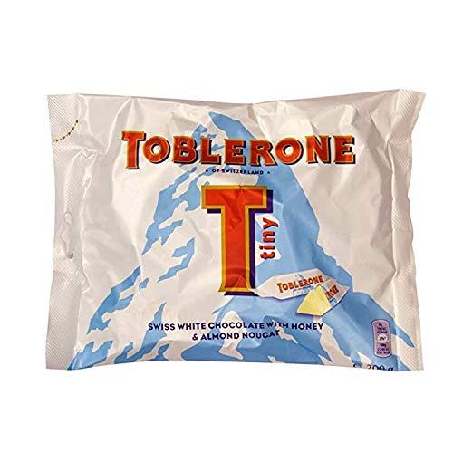 Toblerone weiße Schokolade Minis