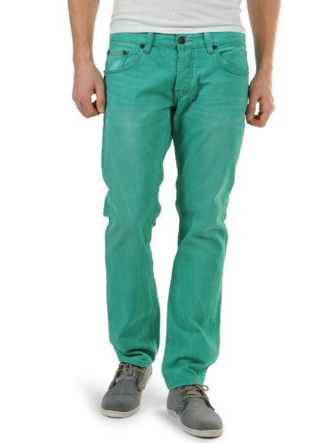 LTB, Sawyer, Damen Damen Jeans Hose Denim Green Storm W 34 L 32 [20729]