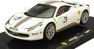 Hot wheels X5505 Ferrari 458 Italia Challenge #5 Elite Edition 1/43 Diecast Car Model by Hotwheels