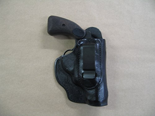 "EAA Windicator .357 Revolver 2"" IWB Leather in The Waistband Carry Holster CCW Black RH"