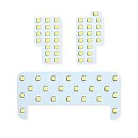 【長寿命LED】トヨタ ハイラックス ピックアップトラック 専用設計 LED ルームランプセット 【1年保証】【車検対応】【専用工具・取説付】 HILUX PICKUP TRUCK 室内灯 内装パーツ ホワイト 白 LED化 純正交換 LED ライト カスタム インテリア ドレスアップ