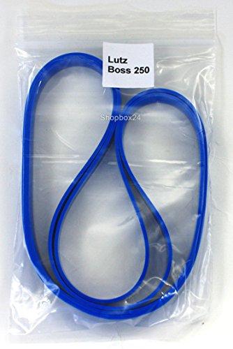 Bandage/Belagband für die Bandsägenmaschine Lutz Boss 250, 2 teilig, hochwertig, Bindeglied zwischen Bandsägemaschine und Sägeband, Ersatz vom Laufrollenbelag Bandsägenbelag Rollenbelag Belag Band