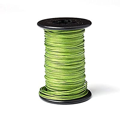 """Ww Zat Archery Bow String Serving Thread Wear-Resistant Material 98.5 Foot spools (30 Meter/Roll) 0.018"""" Army Green Color Protect and Repair for Various Bow (Pack of 1)"""