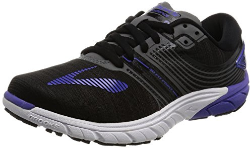 Brooks Women's PureCadence 6 Black/Anthracite/Blue Iris 7 B US