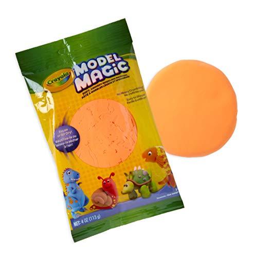Crayola Model Magic Clay Bag, Neon Orange, 4-Ounce