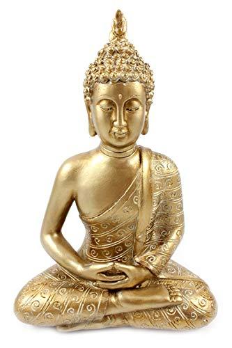 Unbekannt Goldener Buddha Umhang, Magnesia, Feng Shui, Buddha-Statue