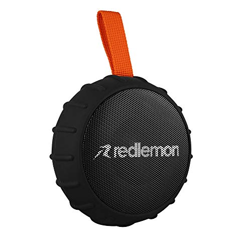 Redlemon Bocina Bluetooth Inalámbrica Portátil contra Agua Resistente a Golpes y Caídas, Potente…