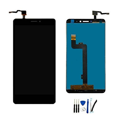 "SOMEFUN Pantalla LCD Repuestos Compatible con Xiaomi Mi MAX 2 MDE40,MDI40 6.44"" LCD Pantalla Táctil Digitalizador Asamblea de Vidrio (Negro sin Marco)"