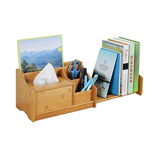 BUDBYU Versenkbares Bücherregal Großraum-Desktop-Aufbewahrungsregal Student Dormitory...