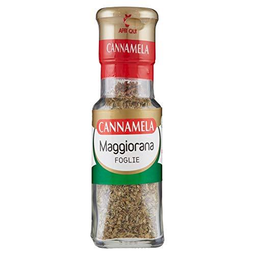 Cannamela, Linea Maxi Oro, Maggiorana in Foglie, Insaporitore per Ragù, Brasati, Polpette, Ideale per Torte Salate, Pesti e Pizza
