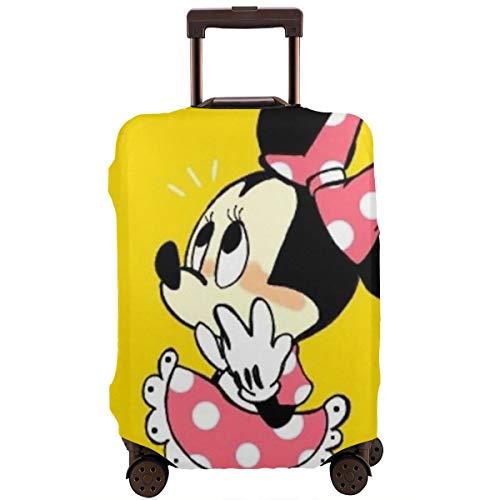 Copertura per bagagli da viaggio Minnie, per bagagli da 45,72 cm, Infradito colorati estivi, con finte perline (Bianco) - WSXEDC-33159661-White-31