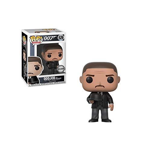 FUNKO Figura POP James Bond Goldfinger Oddjob Throwing Hat Exclusive