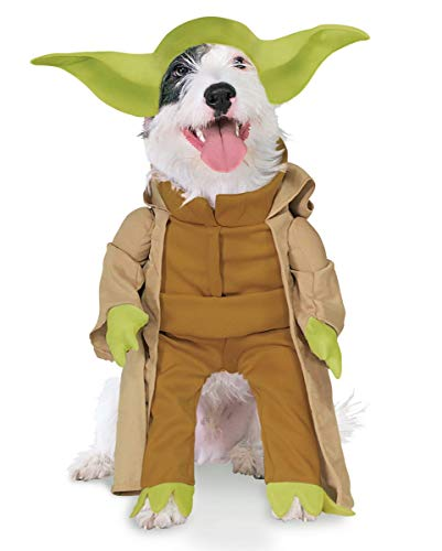 Horror-Shop Yoda Hundekostüm XL