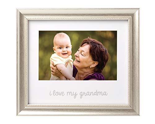 Lil Peach I Love My Grandma Keepsake Frame, Grandma Gift, Nana Gift, Silver
