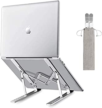 Andate Portable Ergonomic Adjustable 7 Levels Height Laptop Stand
