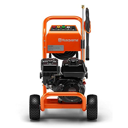 Find Discount Husqvarna 967979401 HH36 2.5 GPM 3600 PSI Pressure Washer w/ 50 ft Flexible Hose