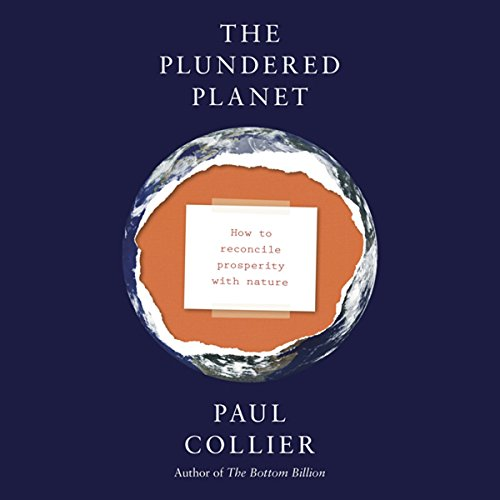 The Plundered Planet audiobook cover art