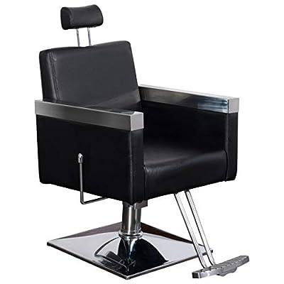 BarberPub Classic Recline Hydraulic