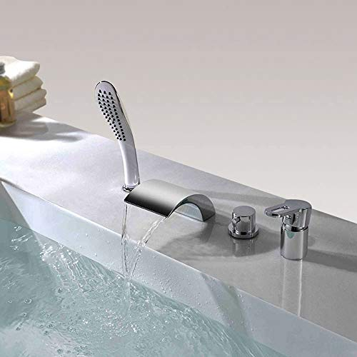 RGERG Mezclador de baño de Bata de baño de una Sola Palanca,...