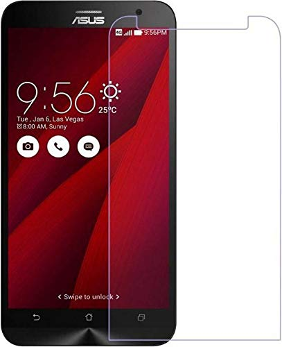 Timbu Edge to Edge Hammer proof screen guard 9H Hardness Anti Fingerprint Anti Glare 033mm HD+ view Crystal Clear Precusely Engineered Tempered Glass for Asus Zenfone 2 Ze551ml