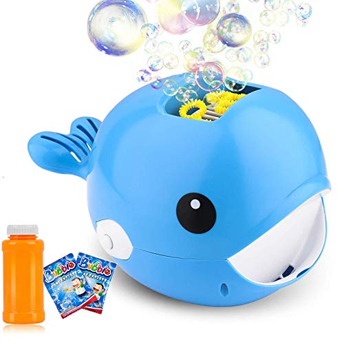 Product Image of the COSILY Bubble Machine, Automatic Durable Bubble Blower for Kids, Portable Bubble...