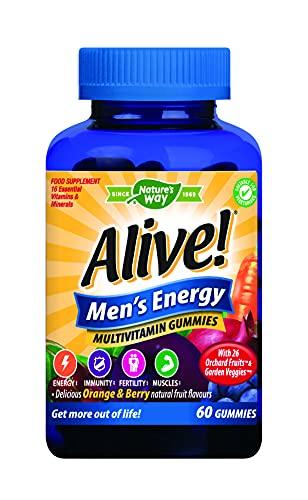 Alive! Men's Energy Multivitamin Gummies