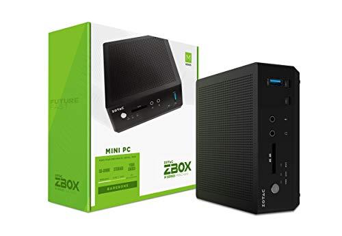 ZOTAC ZBOX MI662 Nano Mini PC 10th Gen Intel Core i7-10510U, Intel UHD Graphics, No Memory/Storage/OS Barebones System, ZBOX-MI662NANO-U