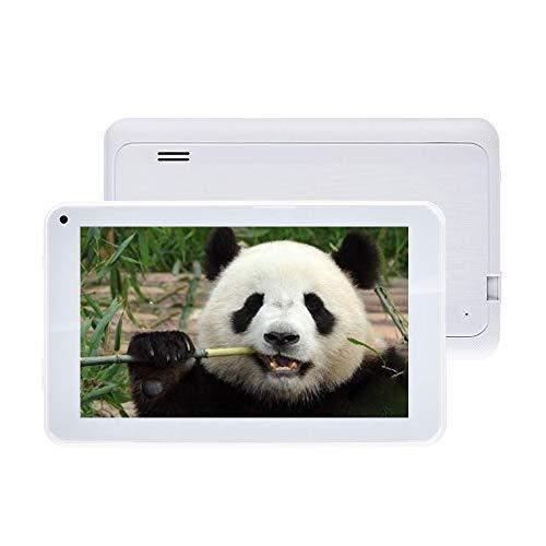 TXVSO Pad Tablet PC de 7 Pulgadas - Google Android 6.0 Quad Core, 1.3Ghz, Pantalla HD 1024x600, 1GB RAM + 16GB ROM, Bluetooth 4.0, WiFi, para niños Adultos, Blanco