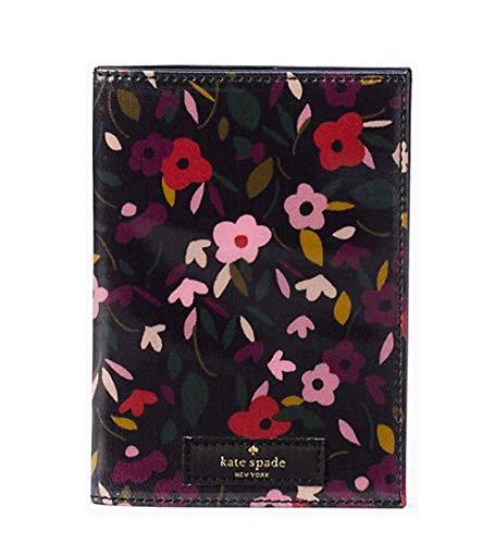 Kate Spade New York daycation boho floral passport Black multi