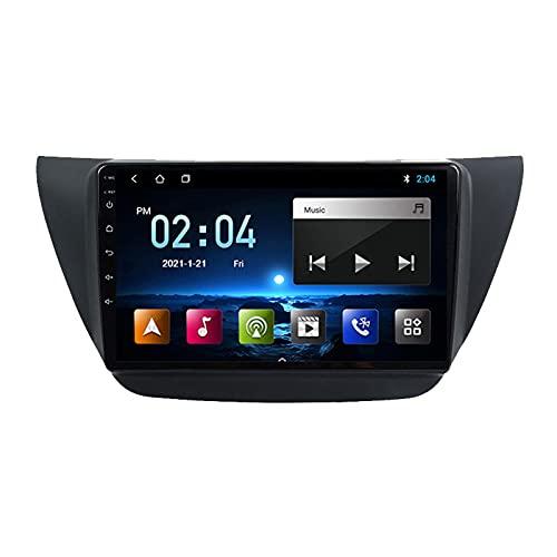 MGYQ 2 DIN Coche Radio Reproductor De Radio FM, para Mitsubishi Lancer IX 2006-2010 para Coche 9 Pulgadas Navegación GPS con Bluetooth/Cámara De Respaldo,Quad Core,4G WiFi 1+32
