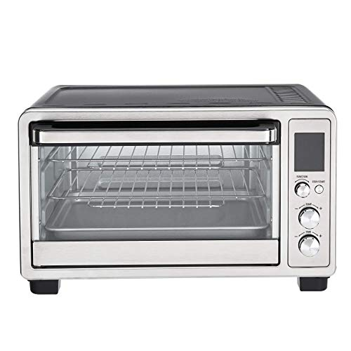 Amazon Basics 6-Slice Countertop Convection Toaster Oven with Digital Control