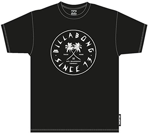 BILLABONG Tendencies SS Camiseta, Negro (Black 19), One Size (Tamaño del Fabricante: S) para Hombre