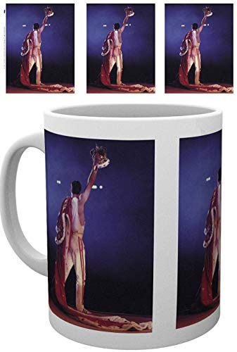 for-collectors-only Queen mok Freddie Mercury Live Crown koffiemok koffiemok mok