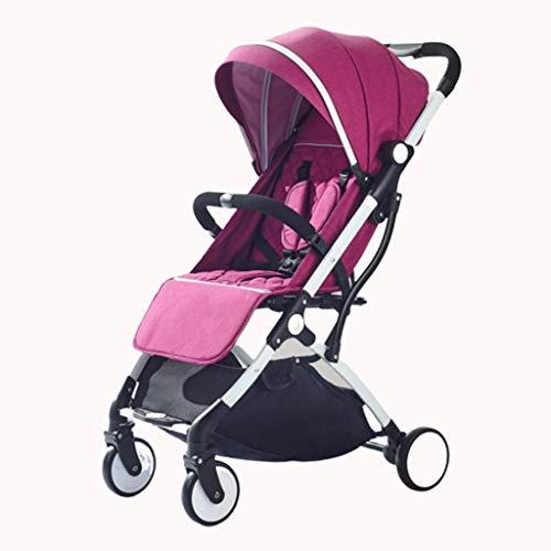 Carritos y sillas de Paseo Cochecito de bebé de Viaje Ultra Ligero Portátil Plegable Asiento de Niño Cochecito Mosquitero Carro de Bebé Red Transpirable Cochecito Bebé Sillas de Paseo