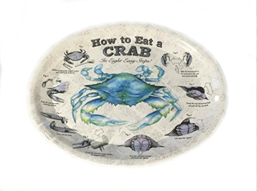 Crab Platter, Eat a Crab in Eight Steps
