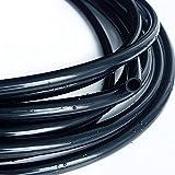Doamt Zmaoyun-PVC Mangueras de conducto 3x5 ID de Tubo de Silicona 3MM OD 5mm 1 Metro de Espesor Flexible de Manguera de Goma 1 mm de Grado alimenticio Conector de Agua Colorido, Resistente