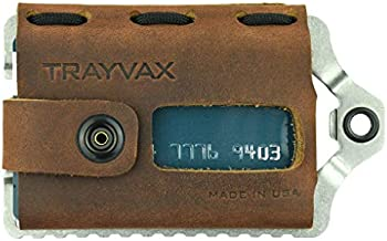 Trayvax Element Wallet (Raw | Mississippi Mud Leather)