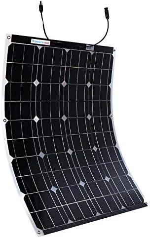 Winnewsun 100W Flexible Bifacial Solar Panel